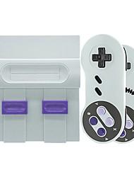 Недорогие -супер классическая игра мини 8 бит семейные видеоигры портативный консольный игровой плеер с 2x геймпады подарок для детей