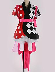 זול -קיבל השראה מ קוספליי קוספליי אנימה תחפושות קוספליי חליפות קוספליי תבנית גאומטרית שמלה / חגורה / עוד אביזרים עבור בגדי ריקוד גברים / בגדי ריקוד נשים
