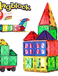 Недорогие -Магнитные плитки 60 pcs Креатив Геометрический узор Градиент цвета Все Мальчики Девочки Игрушки Подарок