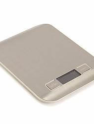 Недорогие -5kg Высокое разрешение ЖК дисплей Электронные кухонные весы Семейная жизнь Кухня ежедневно