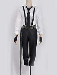 ieftine -Inspirat de Bungo Stray Dogs Cosplay Anime Costume Cosplay Costume Cosplay Contemporan Vârf / Pantaloni / Cravată Pentru Bărbați / Pentru femei