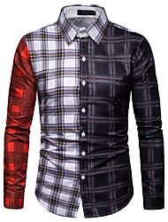 Недорогие -мужская рубашка - воротник рубашки животных