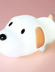 povoljno -1pc LED noćno svjetlo / Noćno svjetlo dječjeg vrtića Toplo bijelo USB Za djecu / Kreativan