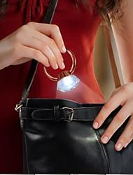 abordables -1pc LED Night Light Blanc Naturel Bouton alimenté par batterie Créatif <=36 V