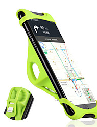 Недорогие -WEST BIKING® Крепление для телефона на велосипед Компактность Нескользящий Простота установки для Шоссейный велосипед Горный велосипед Силикон Aluminum Alloy iPhone X iPhone XS iPhone XR Велоспорт