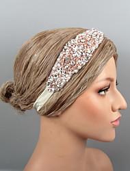 economico -Piume Cerchietti / Accessori per capelli con Con diamantini / Cristalli / Perline 1 pezzo Matrimonio / Party / serata Copricapo