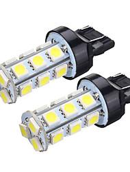 Недорогие -2pcs T20 (7440,7443) Автомобиль Лампы SMD 5050 Лампа поворотного сигнала / Тормозные огни / Фонари заднего хода (резервные) Назначение Универсальный Все модели Все года