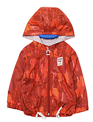 זול -ז'קט ומעיל שרוול ארוך דפוס בנים תִינוֹק
