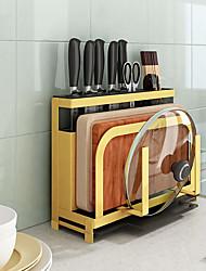 cheap -Kitchen Organization Rack & Holder / Cookware Holders / Hanging Baskets Metal Storage 1 set