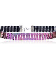 baratos -moda feminina / colar de liga colorida