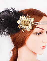 cheap -The Great Gatsby 1920s The Great Gatsby Costume Women's Flapper Headband Head Jewelry Blue / Golden Vintage Cosplay Sequin Party Prom Festival / Sequins