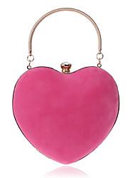Недорогие -Жен. Кристаллы Полиэстер / Сплав Вечерняя сумочка Хрустальные сумочки из хрусталя Сплошной цвет Розовый / Пурпурный / Тёмно-синий / Наступила зима