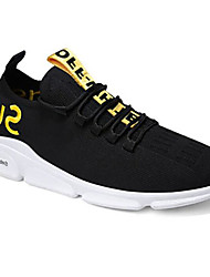 cheap -Men's Comfort Shoes Mesh Spring Athletic Shoes Running Shoes Black / Red / Black / Yellow