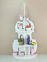 abordables -Espace de rangement Organisation Organisateur de maquillage cosmétique Panneau de mousse de PVC Forme irrégulière Créatif / Multicouche / Nouveautés