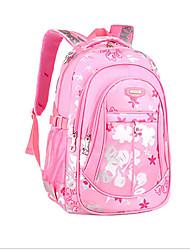 levne -Dámské Tašky Nylon Školní taška Zip Světlá růžová / Fuchsiová / Nebeská modř