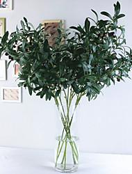 levne -Umělé květiny 1 Větev Klasické Evropský Pastýřský Styl Rostliny Květina na stůl