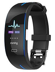 abordables -H66 PLUS Pulsera inteligente Android iOS Bluetooth Smart Deportes Impermeable Monitor de Pulso Cardiaco ECG + PPG Podómetro Recordatorio de Llamadas Seguimiento de Actividad Seguimiento del Sueño