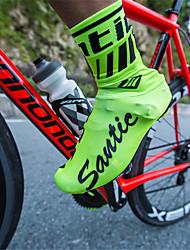 Недорогие -SANTIC Взрослые Чехлы для велообуви Водонепроницаемость Противозаносный Разные виды спорта Велосипедный спорт / Велоспорт Зеленый Черный Красный Универсальные Обувь для велоспорта