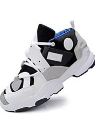 זול -בגדי ריקוד גברים נעלי נוחות סינטטיים קיץ & אביב נעלי ספורט לבן / שחור / אפור