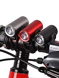 Недорогие -Светодиодная лампа Велосипедные фары Передняя фара для велосипеда Фары для велосипеда Горные велосипеды Велоспорт Велоспорт Водонепроницаемый Супер яркий Безопасность Портативные USB 120 lm