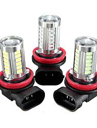זול -חלק 1 H8 מכונית נורות תאורה SMD 5630 660 lm 33 LED אורות ערפל / תאורת איתות עבור אוניברסלי / Volkswagen / Toyota כל הדגמים כל השנים