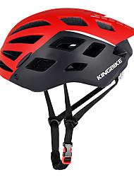 Недорогие -Kingbike Взрослые Мотоциклетный шлем BMX Шлем 26 Вентиляционные клапаны Сетка от насекомых Формованный с цельной оболочкой ESP+PC Виды спорта