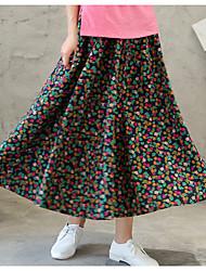 Χαμηλού Κόστους -Γυναικεία Κούνια Κομψό στυλ street Φούστες - Γεωμετρικό