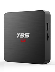 Недорогие -PULIERDE T95S2-A TV Box Android 7.1 TV Box Amlogic S905W 1GB RAM 8Гб ROM Quad Core Новый дизайн