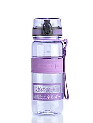 Недорогие -UZSPACE® чайник Бутылки для воды 650 ml PP ПК Пищевые материалы Портативные Cool для Путешествия Катание вне трассы На открытом воздухе Зеленый Фиолетовый Пурпурный Оранжевый Тёмно-синий