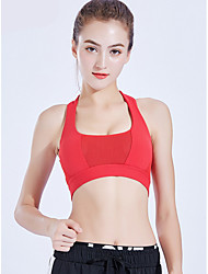 cheap -Women's EU / US Size Sexy 3/4 Cup Bras Sports Bras Solid Colored Polyester