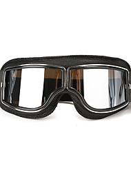 Недорогие -шлем кожаные очки анти-уф защитные очки очки мотоцикл велосипед скутер