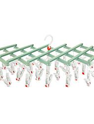 abordables -Outils / Crochets / Épaule de sous-vêtements Imperméable / Portable / Pliable Boutique / Mode Plastique 1 set - Accessoires / Nettoyage Accessoires de toilette / organisation de bain / Salle de bain