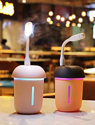 abordables -1pc Luz de noche LED / Luz de libro USB 3 Modos / Creativo / Fácil de Transportar 5 V
