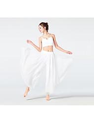 ราคาถูก -ชุดกีฬา Outfits / Yoga สำหรับผู้หญิง การฝึกอบรม / Performance วิสโคส ข้อต่อ เสื้อไม่มีแขน สูง Top / กางเกง