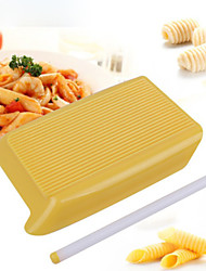 cheap -1pc Plastic Multi-function DIY Noodles Rectangular Rolling Pin Pasta Tools Bakeware tools