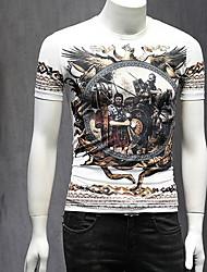 economico -t-shirt da uomo - girocollo ritratto