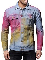 hesapli -Erkek Klasik Yaka Ceket Suits Solid AB / ABD Beden