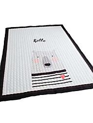 abordables -Carpettes Moderne Pur coton, Rectangle Qualité supérieure Couverture