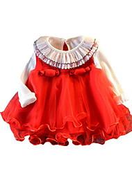 זול -שמלה ללא שרוולים אחיד בנות תִינוֹק