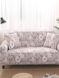 voordelige -Sofahoes Planten / Romantisch Garengeverfd Polyester / katoenmix Hoezen