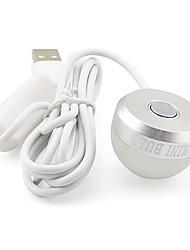 Недорогие -1 шт. Портативный светодиодный ночник 2 Вт 5 В постоянного тока с питанием от USB светодиодные лампы для чтения белый теплый белый