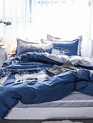 お買い得  -布団カバーセット 贅沢 / ボヘミアンスタイル / 現代風 ポリスター プリント 4個Bedding Sets