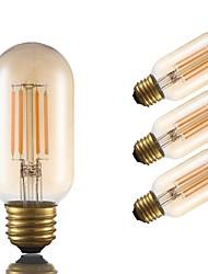 abordables -4pack- gmy t45 ampoule à filament tubulaire 3.5w 300lm led edison ampoule équivalent 28w avec e26 base 2200k blanc chaud pour chambre salon home café décoratif