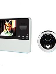 Недорогие -GW601D-2BH Беспроводное Встроенный из спикера ≤3 дюймовый Гарнитура 240*3*320 пиксель Один к одному видео домофона