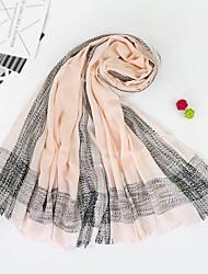 abordables -Femme Basique Foulard Rectangulaire Imprimé