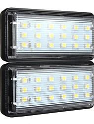 Недорогие -1pcs Автомобиль Лампы SMD 1210 18 Светодиодная лампа Подсветка для номерного знака Назначение Toyota / Lexus / Land Rover Land Cruiser / GX Все года