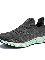 cheap -Men's Comfort Shoes Mesh Spring & Summer Casual Athletic Shoes Running Shoes Breathable White / Black / Gray