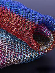 economico -Tulle Geometrica Anelastico 150 cm larghezza tessuto per Nuziale venduto di il Yarda