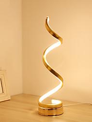 levne -Jednoduchý / Moderní soudobé Okolní Svítidla / Ozdobné Stolní lampa / Pracovní lampička Pro Ložnice / studovna či kancelář Hliník 220-240V Zlatá / Bílá