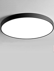 cheap -Circle / Globe / Bowl Flush Mount Lights Downlight Painted Finishes Plastic Matte, Multi-shade, Creative AC110-240V White / Multi Color / Dimmable With Remote Control